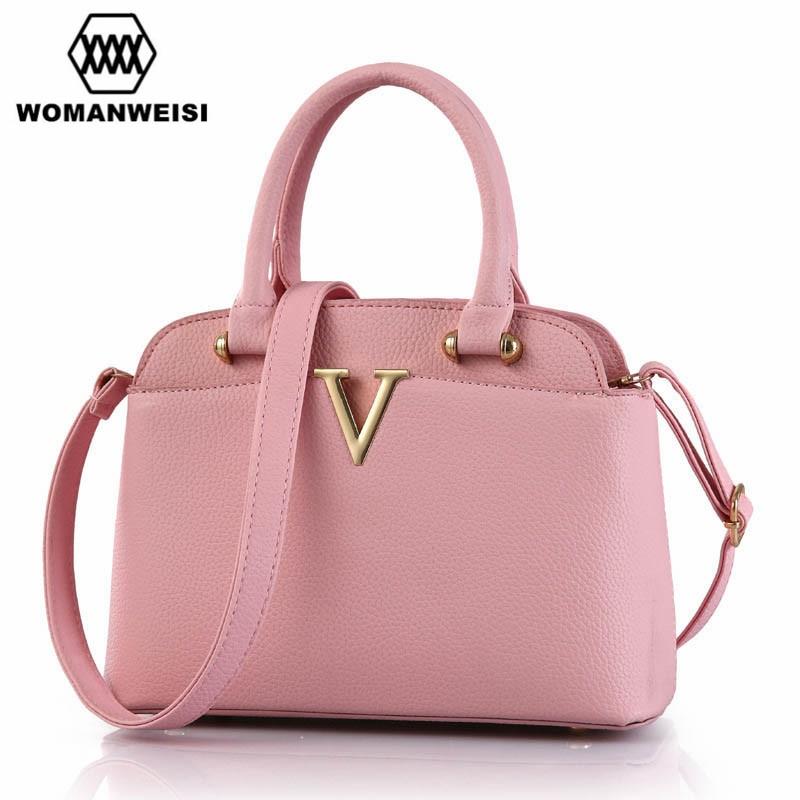 Luxus handtaschenfrauen designer Marke Metall Brief V