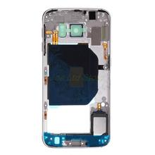 Original Middle Chassis For Samsung GALAXY S6 G920 / S6 edge G925 Back Middle Frame Rear Housing Cover replacement part