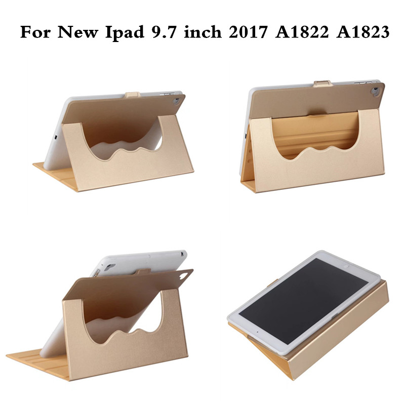 A1822 A1823 Ultra Thin Stand 360 Rotating Design PU Leather case for New ipad 9.7 inch 2017 Cover Colorful Flip Smart Cover что на 10 копеек 1823 года цена