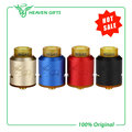 100% Original Desire Mad Dog RDA Atomizer Bottom Side Airflow Rebuildable Dripping Tank with 2-post Build deck e-Cigarette
