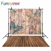 Funnytree бабочка фон для абстрактные дерево цветок весенние детские фон для фотостудии photocall photobooth