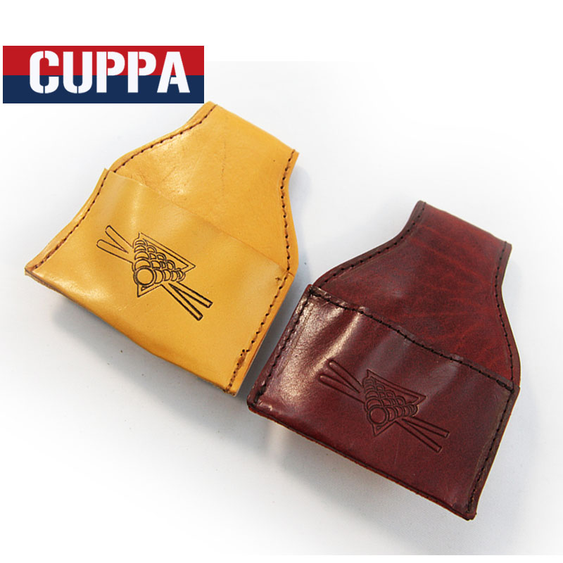 Cuppa Leather PU Snooker Billiard Chalk Holder Pouch Bag Chalks Pocket Billiards