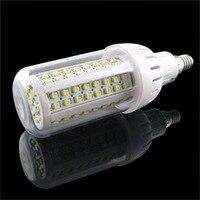 ICOCO 4x108 SMD 3528 Kukurydza Światło Żarówki LED E14 Ciepły Biały Dom Lampy Oszczędzania energii