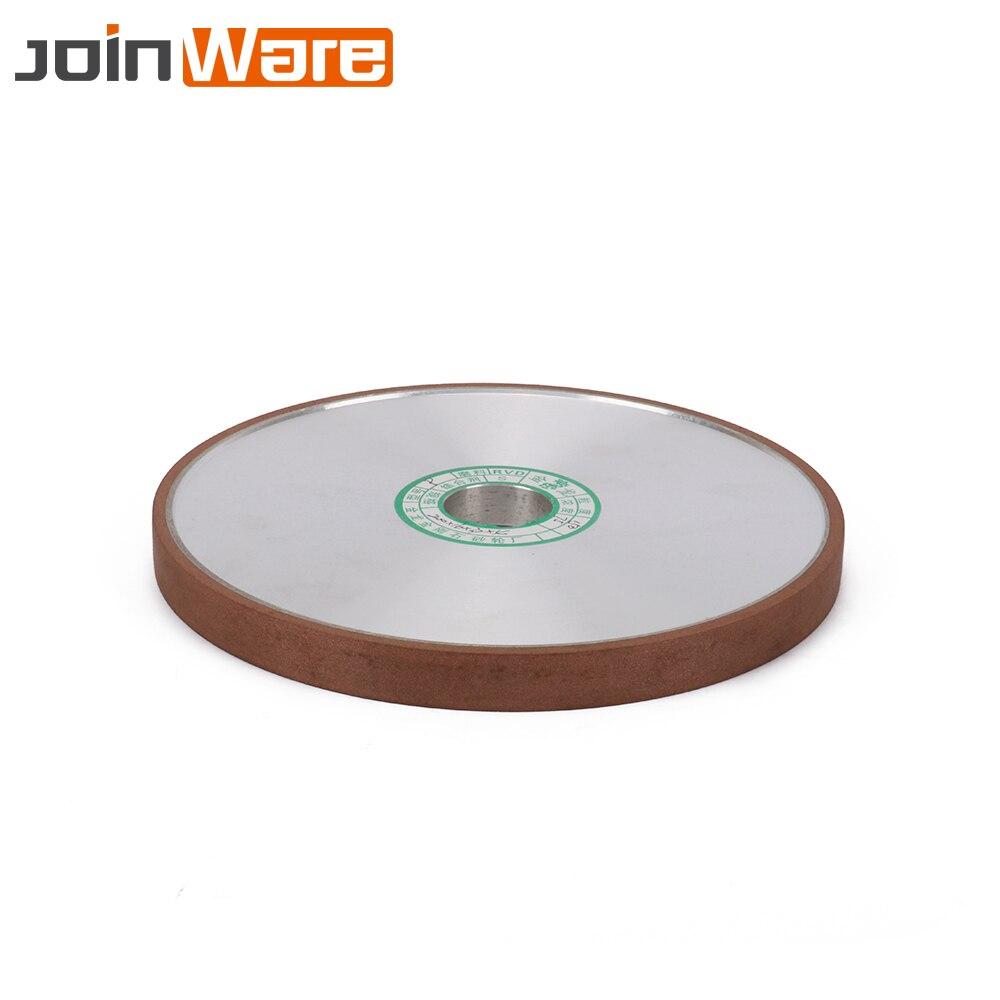 200mm meule diamantée meules plates meules outil électrique pour carbure abrasif fraise outil épaisseur 16mm 20mm 180 #