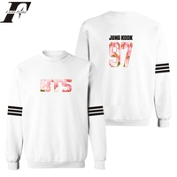 K Pop Sweatshirt Men Tracksuit Harajuku Off White BTS Bangtan Boys Hip Hop Brand Clothing Mens