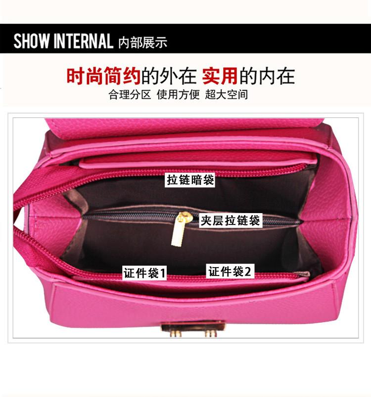 Handbags Solid Small New 25