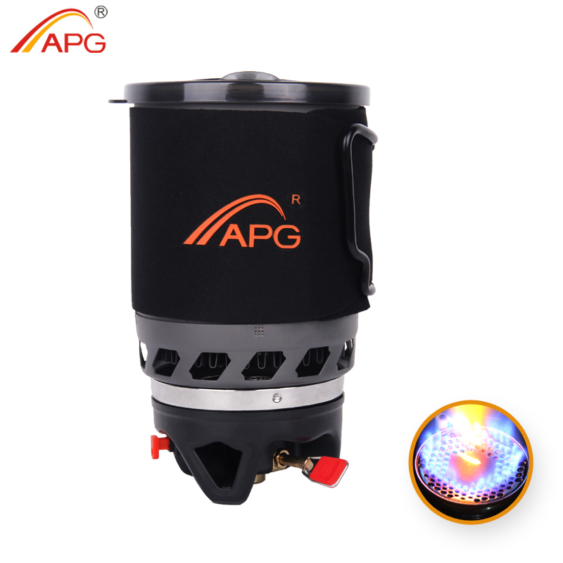 ФОТО APG 900ml camping gas stove fires cooking System and portable gas burners