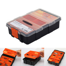 цена на Tool Box Plastic Screwdriver Storage Case Container for Electronic Components Screw Screwdrivers _WK