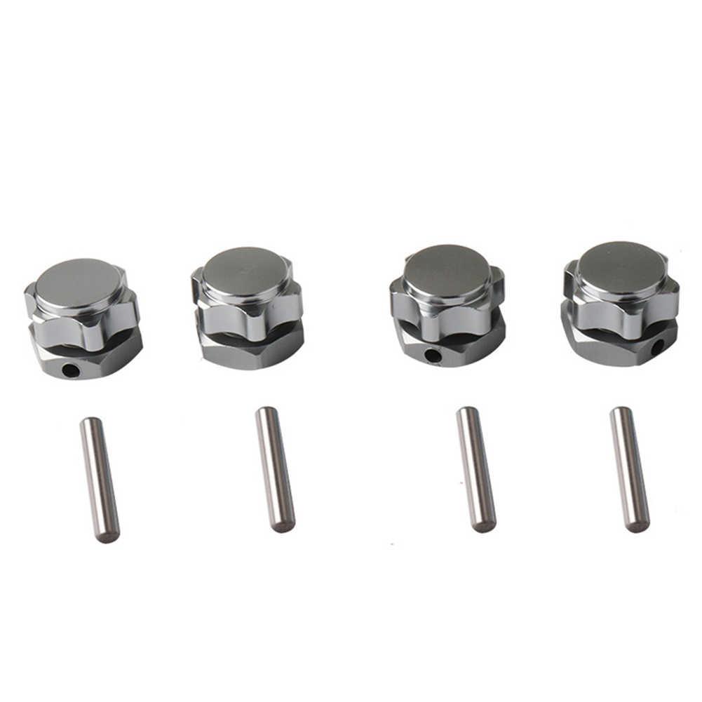 Pin Moer Onderdelen M17 17mm Universele Hex Accessoires Combiner Stofdicht Cover Wheel Adapter Set Duurzaam Voor HSP 1/8 RC Auto