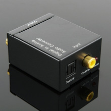 Digital Fiber Coaxial to Analog L/R  Audio Converter  Digital to Analog Audio Converter  Cable
