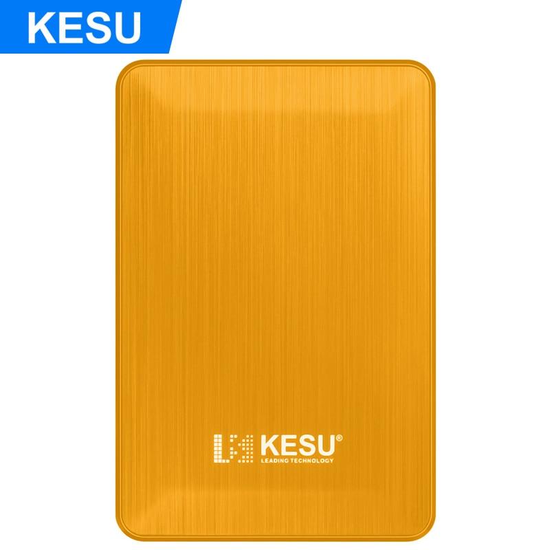 KESU 2 5 Portable External Storage Hard Drive 500GB 750GB 1TB 2T USB3 0 Cable HDD