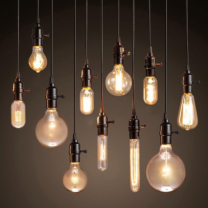 Vintage Pendant Lights American style lamp Industrial Lighting Loft