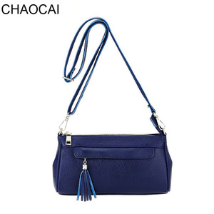 Image 1 - fashion women shouler bag genuine leather handbag female casual small crossbody bags cowhide leather bags