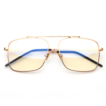 Peekaboo Square Glasses  2