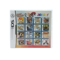 308 In 1 Compilations Video Game Cartridge Card For DS Game Console Super Combo Multi Cart