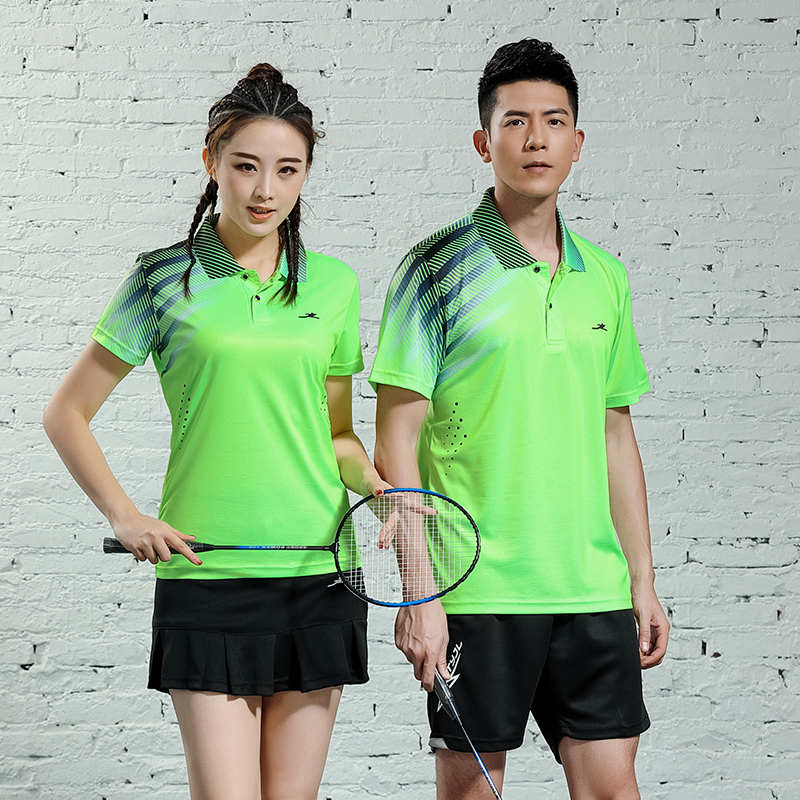 Clothing T-Shirts Jersey Badminton Table-Tennis Sports Soft-Tops And Quick-Dry Breathable