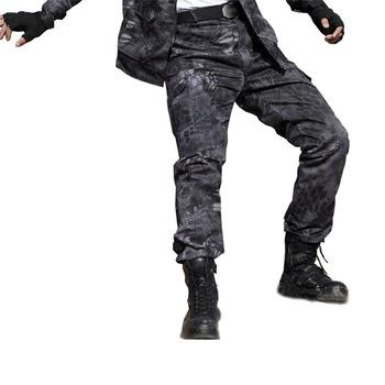 Wojskowe kamuflaż bojowe wojskowe spodnie bojówki wysokiej jakości robocze spodnie haremki męskie taktyczne męskie Jogger Pantalon Homme spodnie dresowe tanie i dobre opinie WOLF ENEMY Poliester Zipper fly Pełnej długości Airpolar 100 101ku Camping i piesze wycieczki Pasuje prawda na wymiar weź swój normalny rozmiar