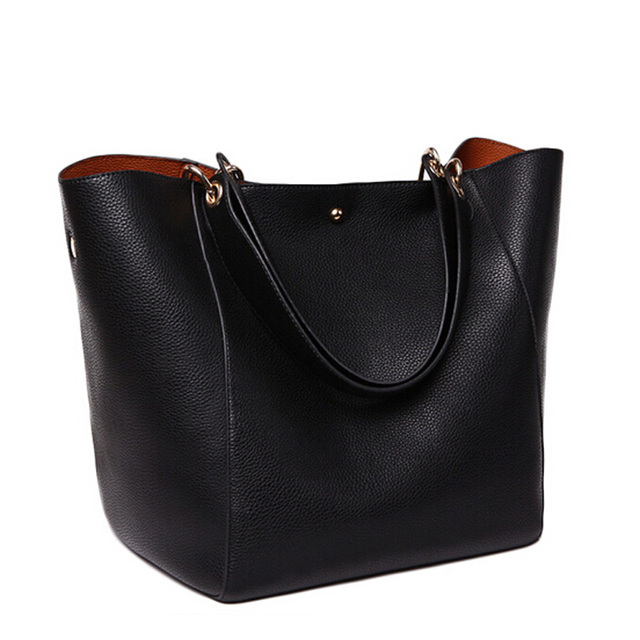 Women Handbag Shoulder Bag Solid Lady Handbag Women Tote Hand Bag