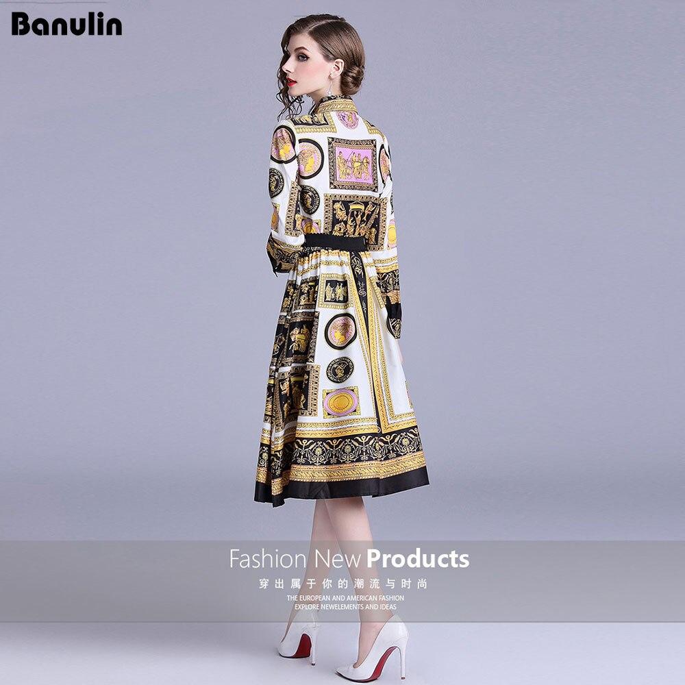 1fc717860079b42 2019 Новинка весны дизайнерское платье Для женщин Одежда высшего качества  Модная одежда с длинными рукавами бантом