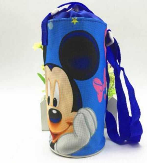 10d96c7e1311 children water bottle portable storage bag sports outdoor water bottle clip  cover insulation heat hanging carry bag