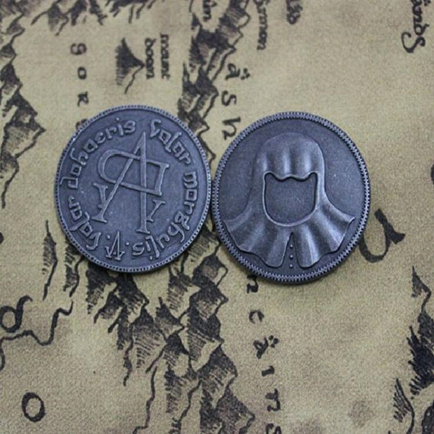 Hot Movie Game Of Thrones Faceless Coin Song Of Ice And Fire Valar Morghulis Jaqen H'ghar Aaliyah Badge 1:1 Cosplay Accessories
