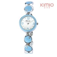 30 м жизнь водонепроницаемый kimio марка роскошные часы для женщин reloj mujer shark relogio feminino мода дамы браслет кварцевые-часы