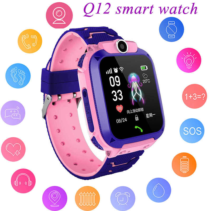 Kids LBS Smart Watch Boys' Watch Girl's Watch Multifunction Children Digital Wristwatch Baby Watch Phone For IOS Android Kids