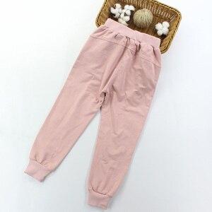 Image 5 - בנות ספורט חליפות תחרה בנות בגדים סטי סווטשירט + מכנסיים אביב סתיו ילדים בנות תלבושת בגדי גיל 4 6 8 10 12 14 שנה
