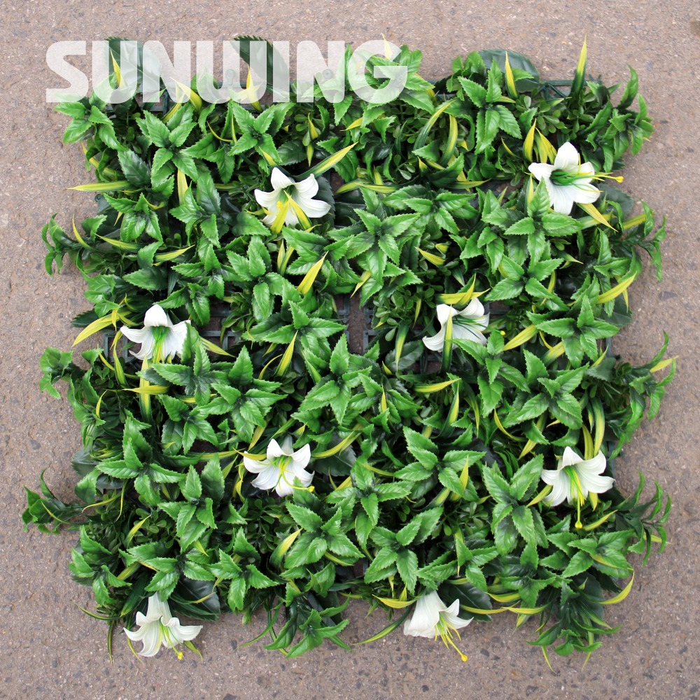Online buy wholesale outdoor artificial plants from china for Cheap garden plants