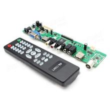 V29 Universal LCD Controller Board TV Motherboard VGA/HDMI/AV/TV/USB Support 7-55 inch LVDS Screen Free Shipping