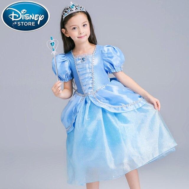 Disney Gefrorene kleid Für Mädchen moana disfraz Anna Elsa elza ...