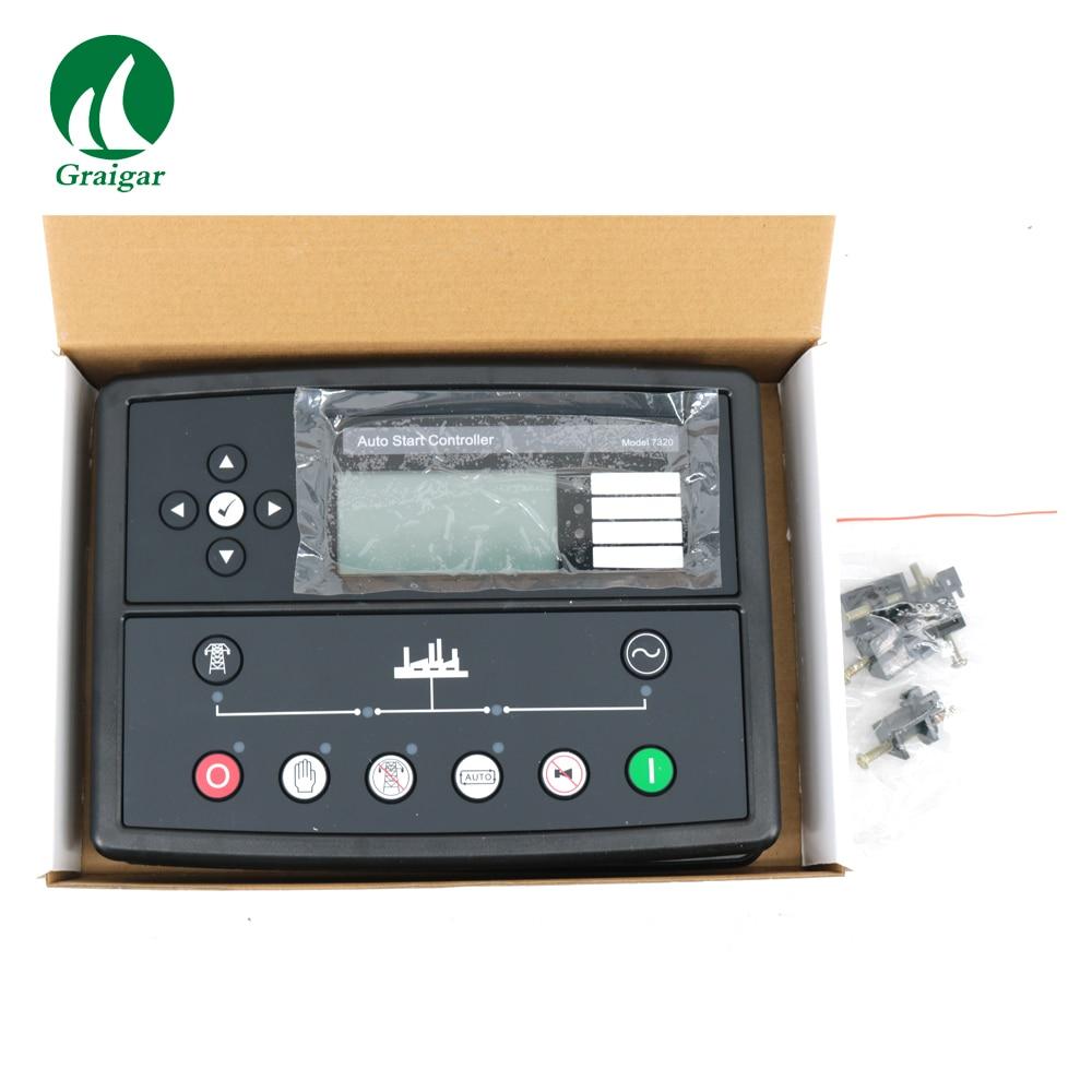 все цены на New Auto Start Control Module DSE7320 Generator Controller Auto Mains Failure Control Module онлайн