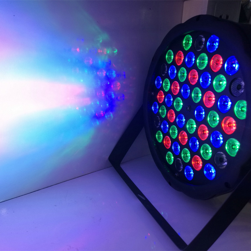 led stage light led par lights 54 RGBW PAR Stage Lighting Effect DMX512 DJ Par LED RGBW Wash Disco Light DMX Controller effect niugul 4pcs lot dmx led par 54x3w rgbw stage par light wash dimming strobe lighting effect light for disco dj party show par led