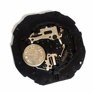 Image 2 - Nowa wykonana w japonii PC33A 3 ręce data dzień oryginalny 10 1/2 mechanizm kwarcowy