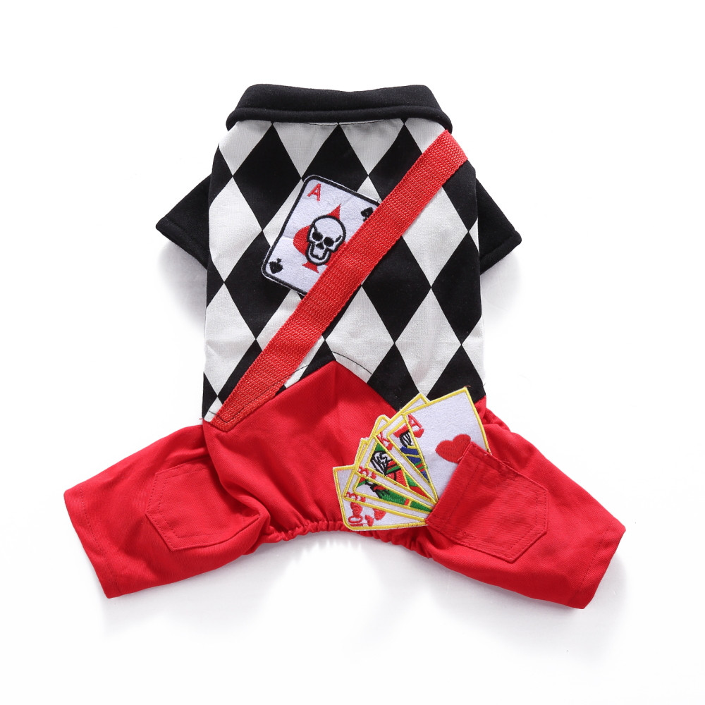 Halloween Magician Dog Clothes Cool Pet Cosplay Costume