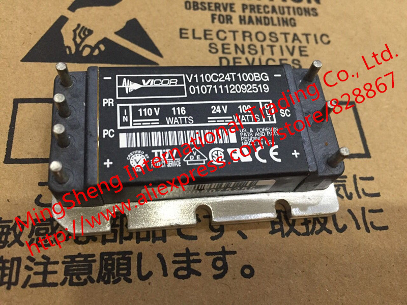 цена на Original import V110C24T100BG IN 110V 116 WATTS / OUT 24V 100 WATTS power module quality assurance