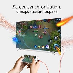 Image 4 - HOCO Per Apple spina hdmi AV Cavo Adattatore di Ricarica 8 pin a HDTV 1080 p Proiettore Monitor per il iphone 7 8 iPad convertitore