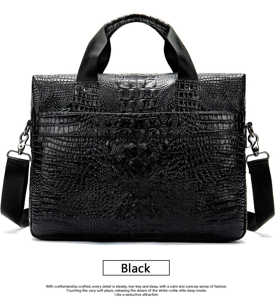 HTB1HXPmXgaH3KVjSZFjq6AFWpXaz MVA Male briefcase/Bag men's genuine leather bag for men leather laptop bags office bags for men Crocodile Pattern handbag 5555