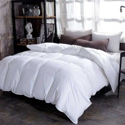 Chpermore 95 % White Goose/Duck Down Duvets Thickening Winter Comforters 100% Cotton Cover King Queen Twin Full Size