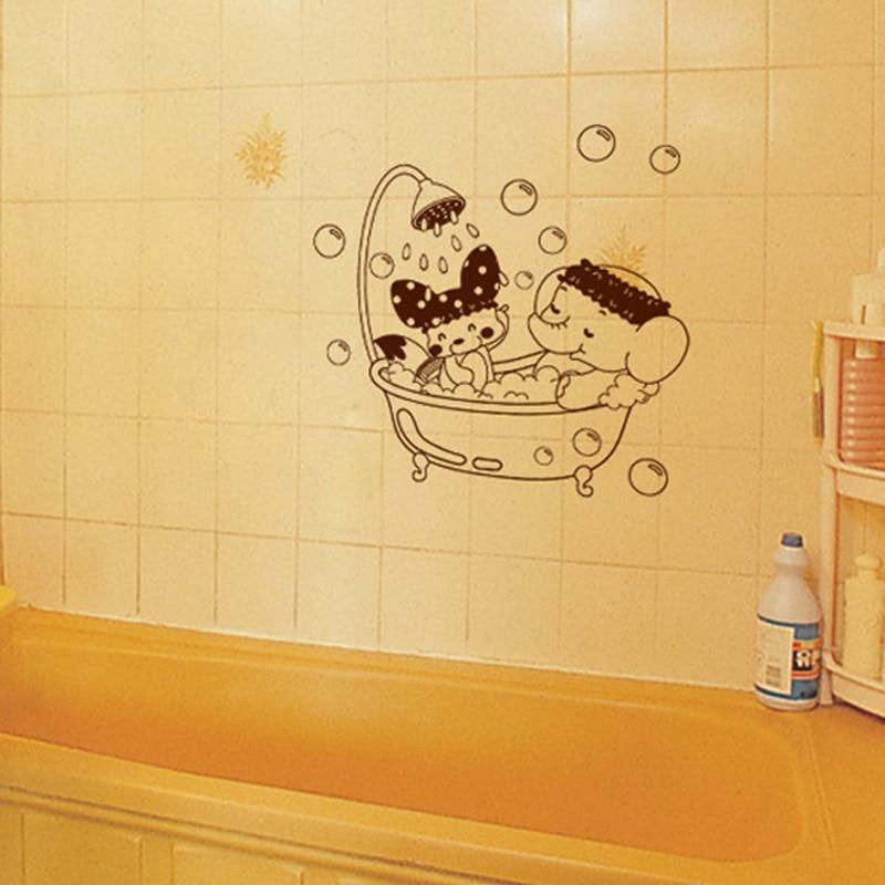 Aliexpress.com : Buy New Sweet Bubble Bathroom Wall Sticker Decal ...