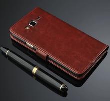 Do Samsung Galaxy J5 J500 J7 J700 2015 Case luksusowe etui flip wallet Retro skórzane etui na samsunga J5 J7 2015 2016 J510 J710 Coque