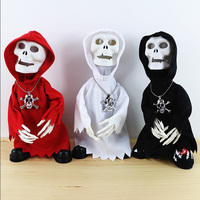 Halloween Toy Electric Skull Man Novelty Prank Toys Horror Novelty Items Funny Toys Halloween Toy Electric