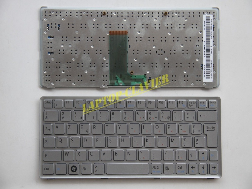 New notebook Laptop keyboard for sony VAIO VPC W217 VPC-W AESY2F00010 FR / french  layout for sony vpceh35yc b vpceh35yc p vpceh35yc w laptop keyboard