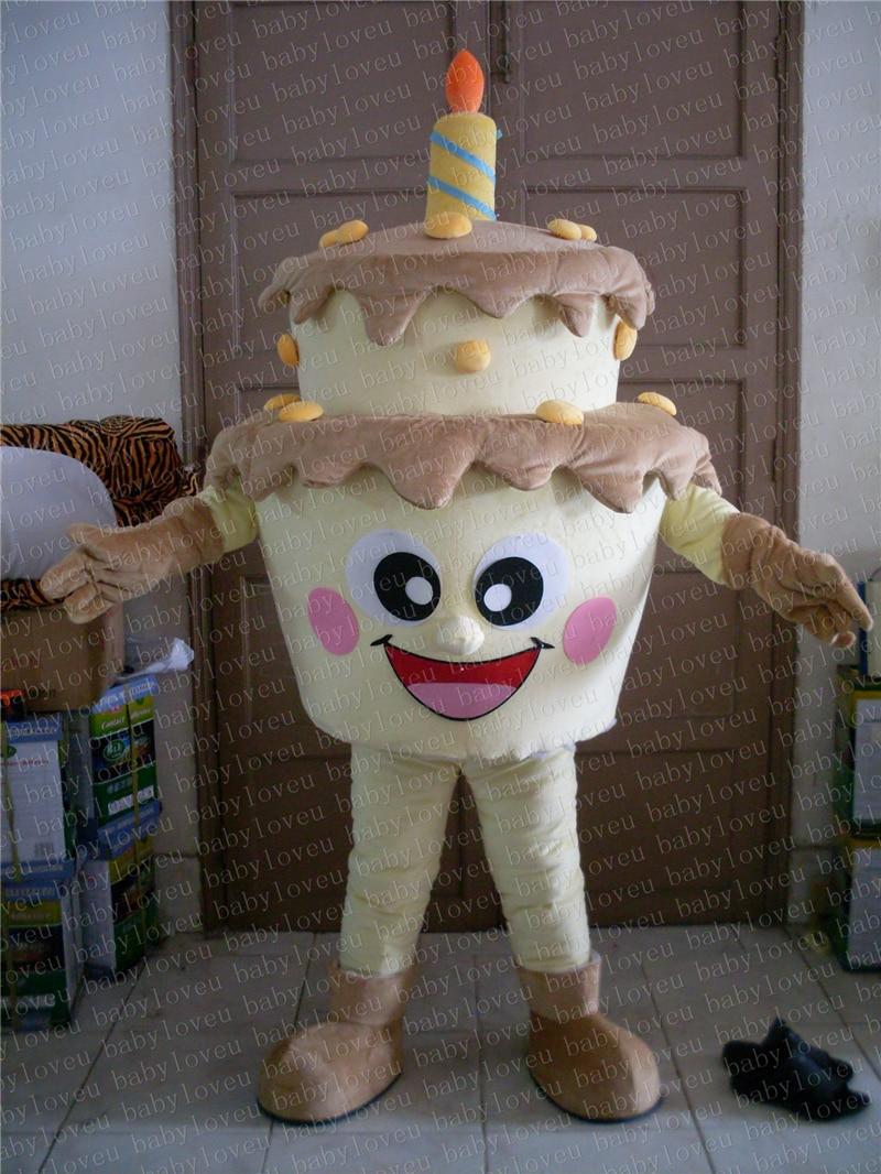 Awe Inspiring Adult Size Birthday Cake Mascot Costume Cake Costumes Fancy Dress Personalised Birthday Cards Xaembasilily Jamesorg
