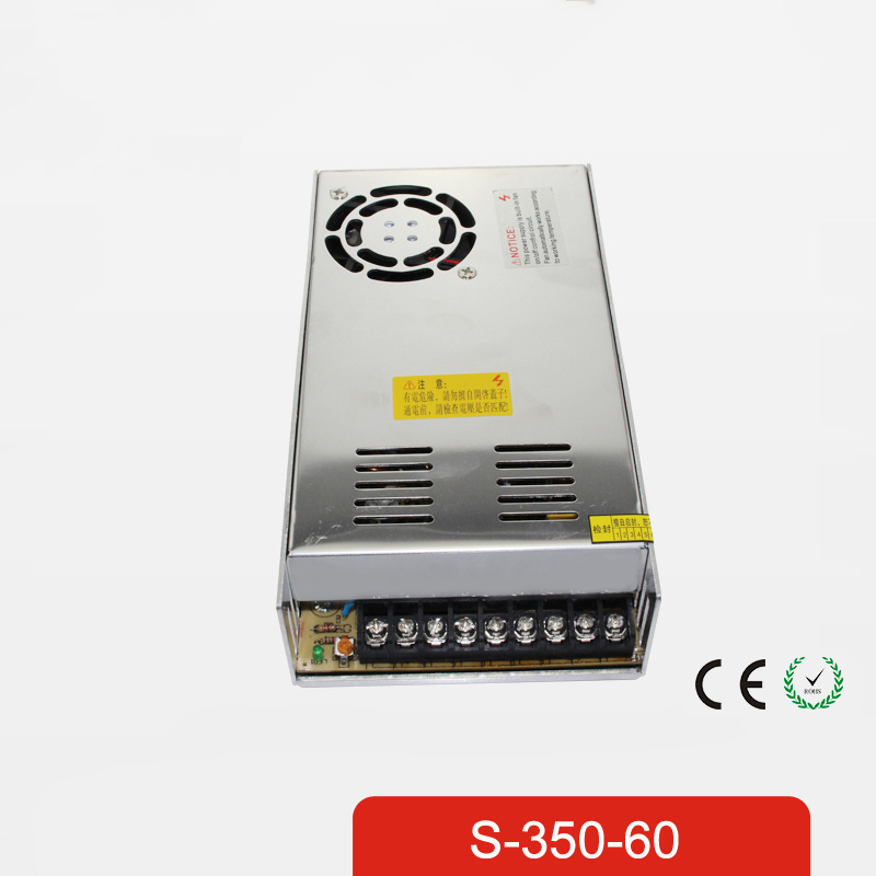 Promotion for Sale 350W 5.8A Single Output 60V Switching power supply AC TO DC for CNC Led strip S-350-60 meanwell 12v 350w ul certificated nes series switching power supply 85 264v ac to 12v dc