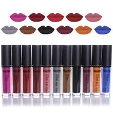 1 Pc Waterproof Matte Liquid Lipstick Long Lasting Lip Gloss Gross Beauty Makeup Cosmetic Tool 19-27
