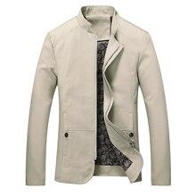 Men Fashion Jackets and Coats New Arrivals 2017 Spring Autumn Men Coats Stand Collar Hot Sale Men Slim Fit Jackets Plus Size 5XL