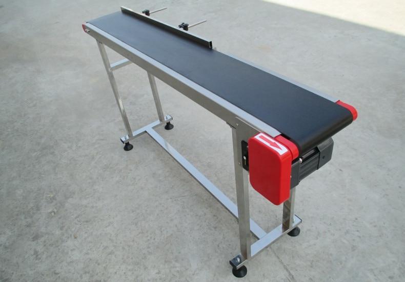 Flat Belt Conveyor Band Carrier PVC Line Sorting Conveyor For Bottles/ Food Transmission Belts Rotating Table SGZ-SSJA8D