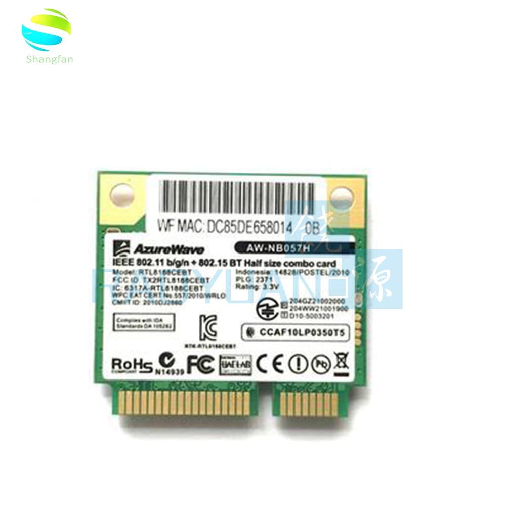 Realtek RTL8188CEBT AW-NB057H MINI PCI-E Wifi 150 Мбит/с Карта
