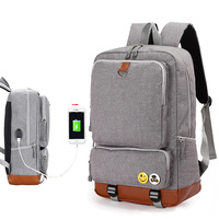 Multifunction External USB Charging Men Backpacks Teenager School Bags Fashion Unisex Men S Travel Backpack Laptop